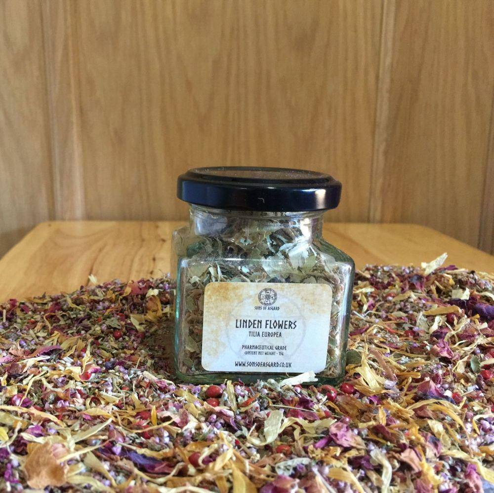 Linden Flowers - Apothecary Jar