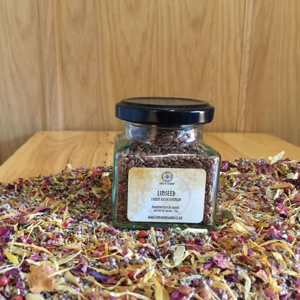 Linseed - Apothecary Jar