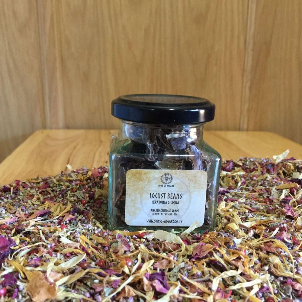 Locust Beans (Carob) - Apothecary Jar