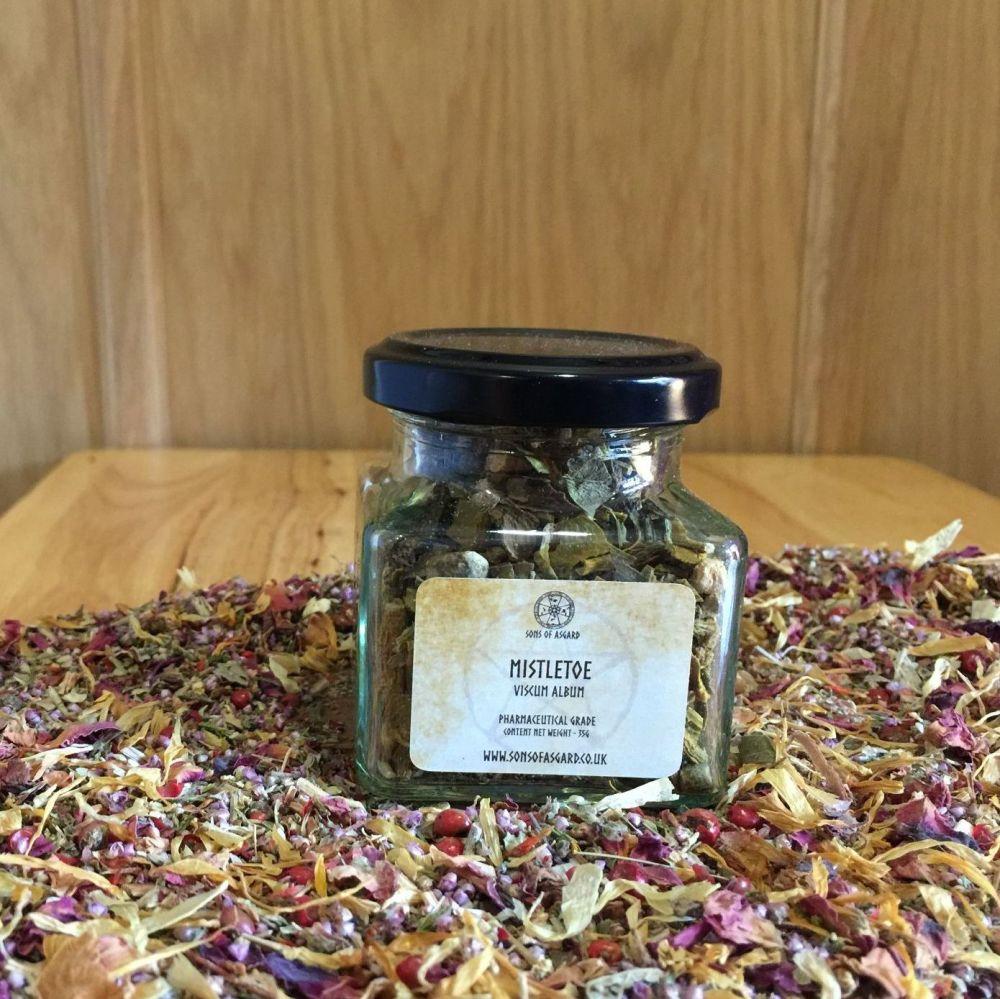 Mistletoe - Apothecary Jar