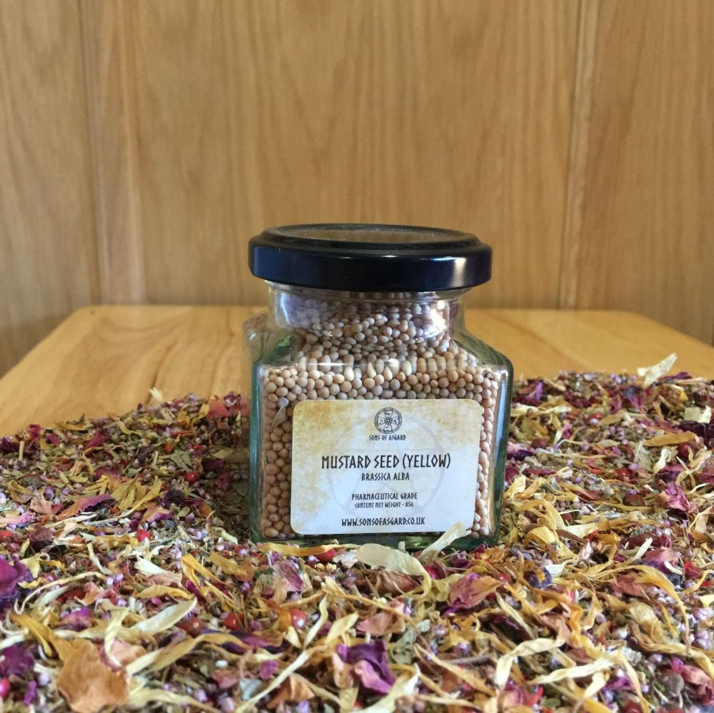 Mustard Seed - Yellow - Apothecary Jar