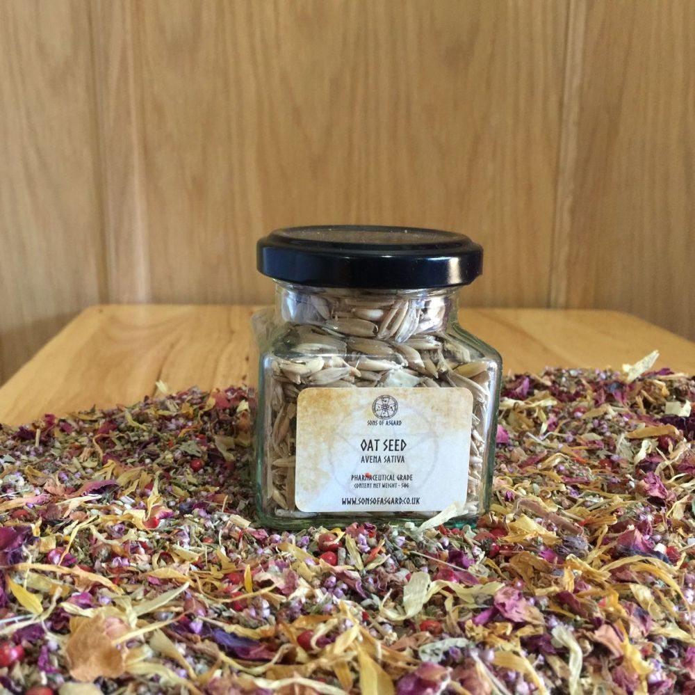 Oat Seed - Apothecary Jar