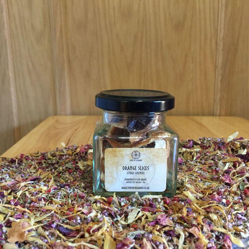 Orange Slices - Apothecary Jar