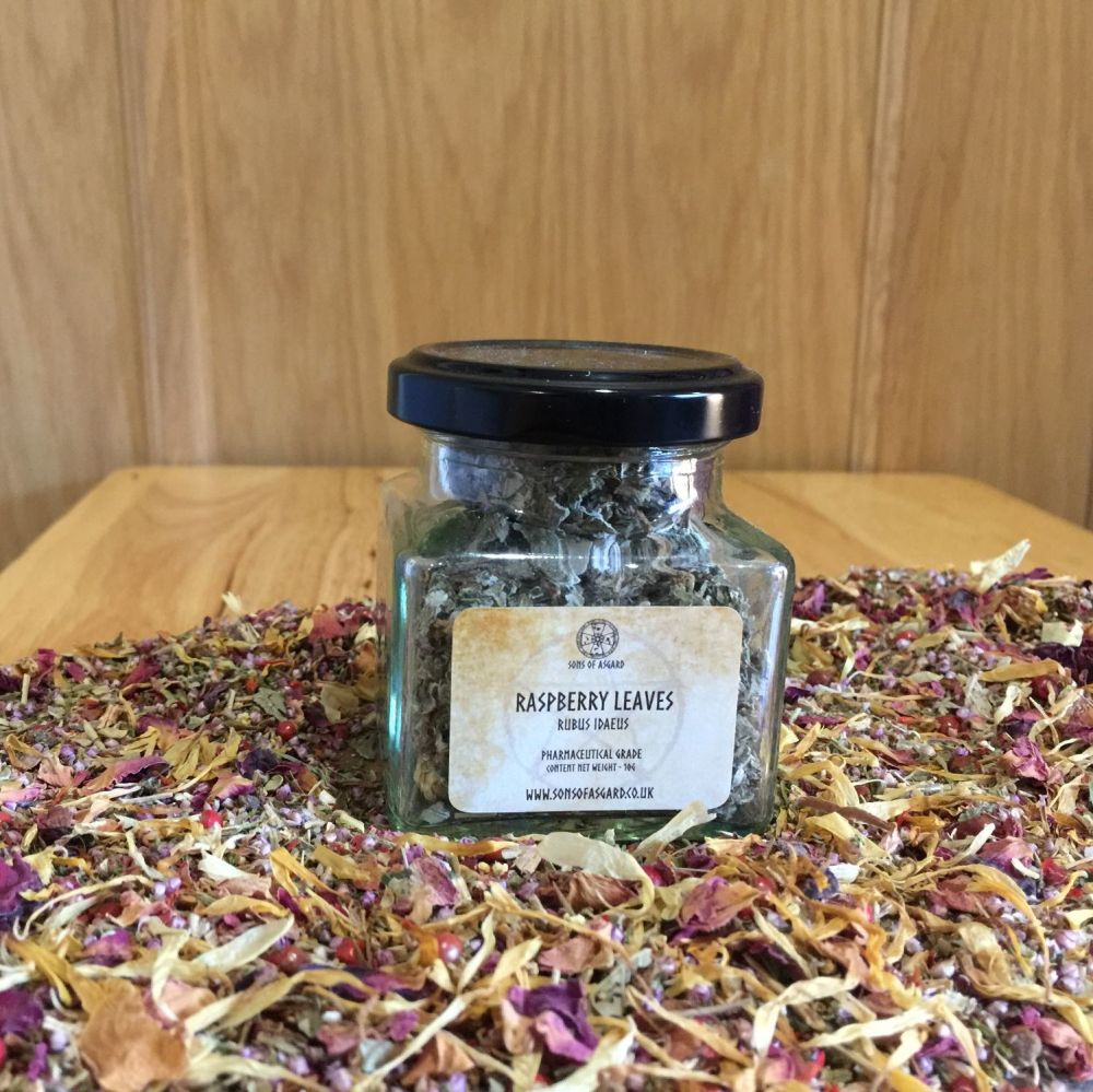 Raspberry Leaves - Apothecary Jar