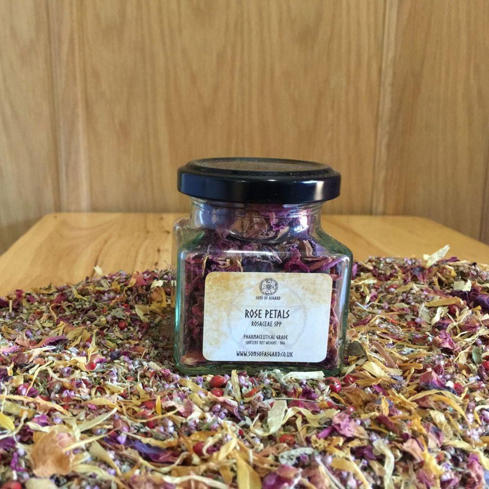 Rose Petals (Red/Pink) - Apothecary Jar