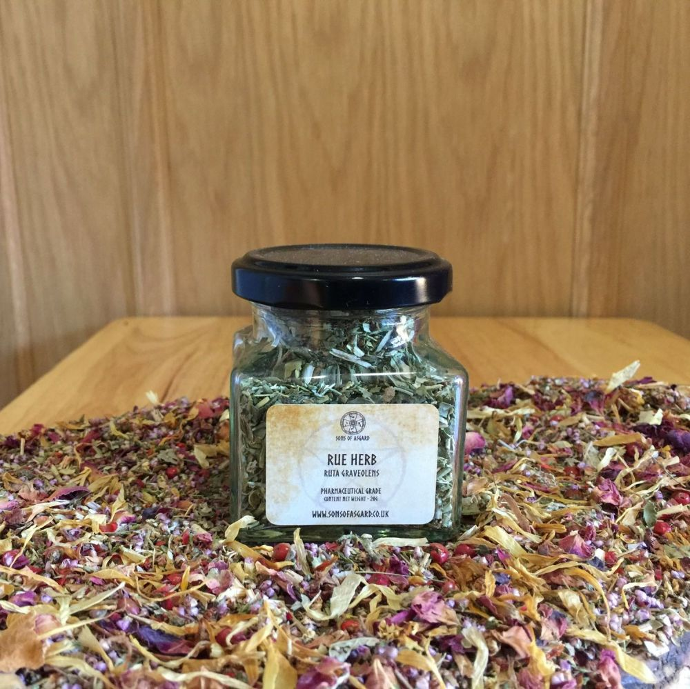 Rue Herb - Apothecary Jar