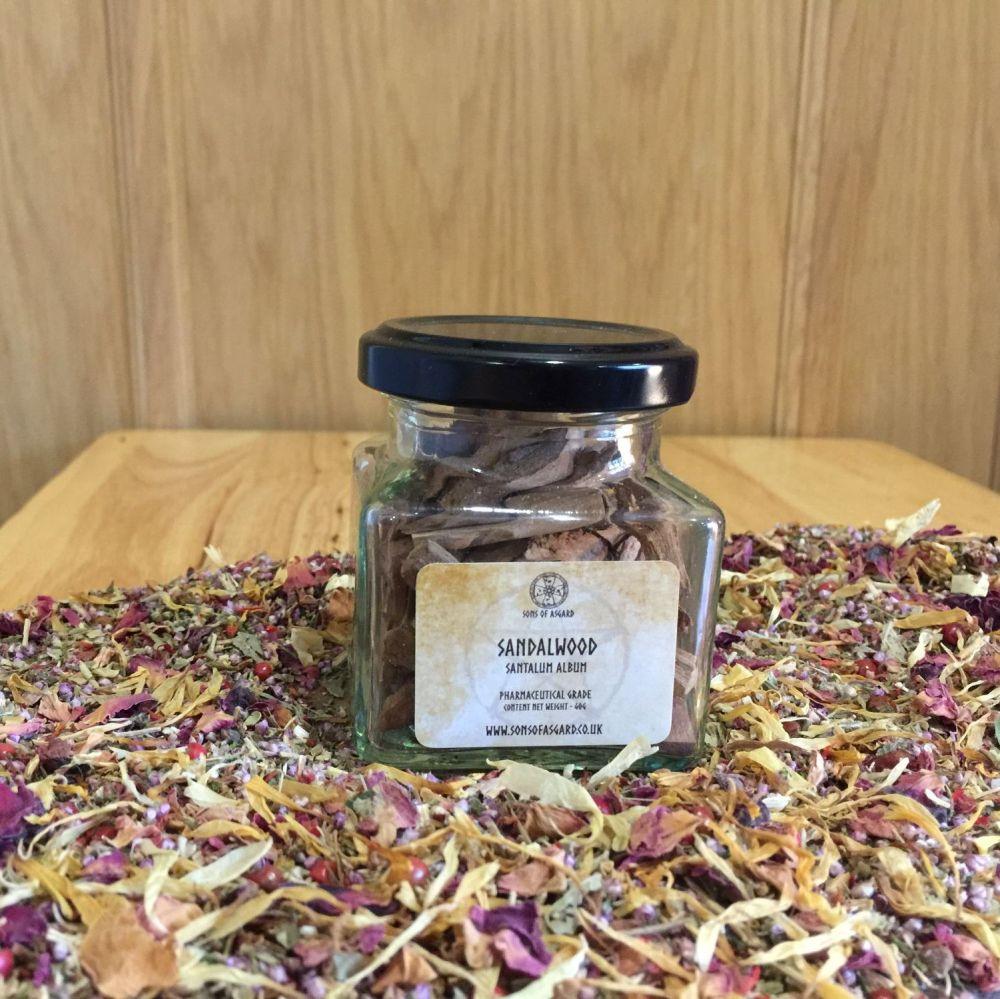 Sandalwood (White) - Apothecary Jar