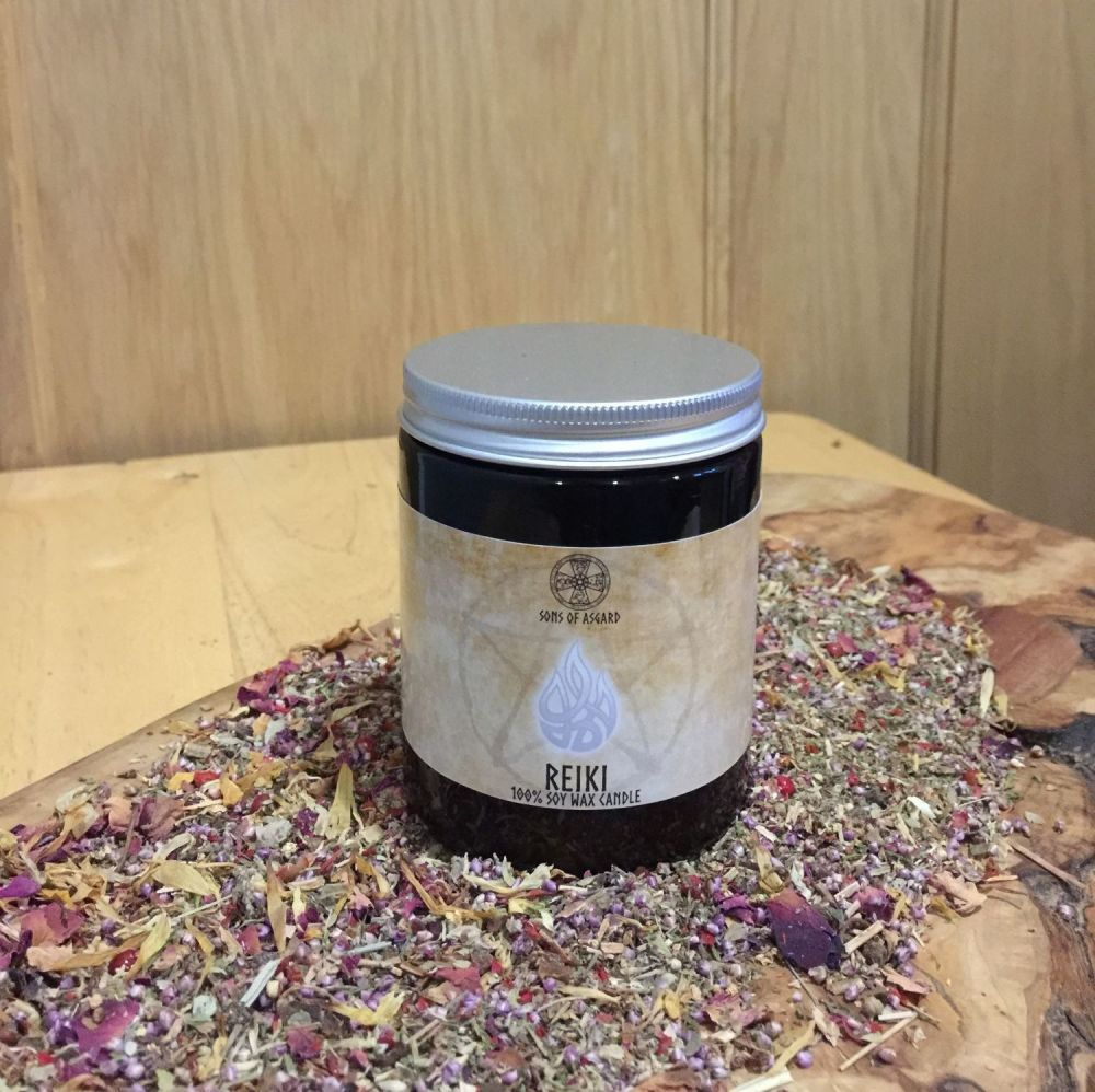 Reiki Jar Candle