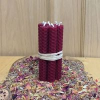 Burgundy Spell Candles