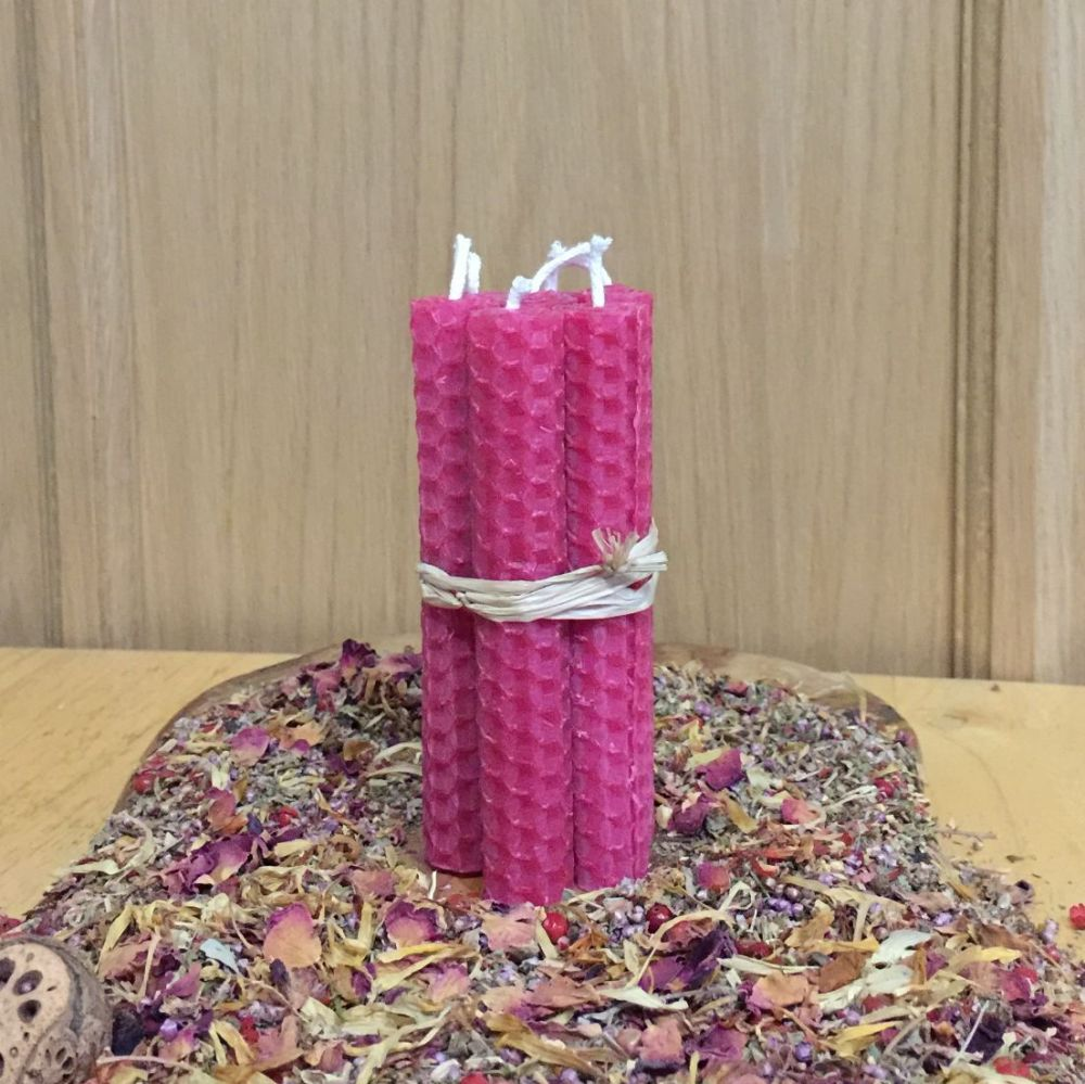 Cerise Spell Candles