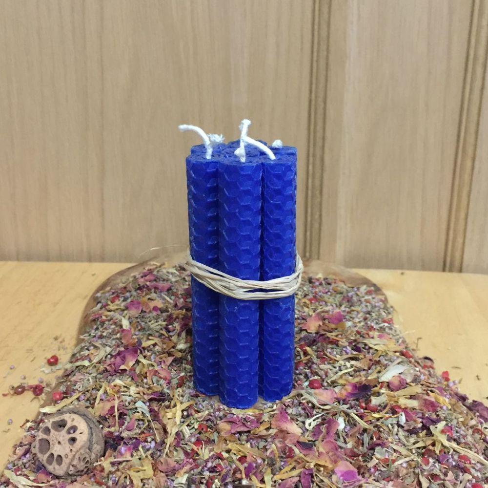 Cobalt Blue Spell Candles
