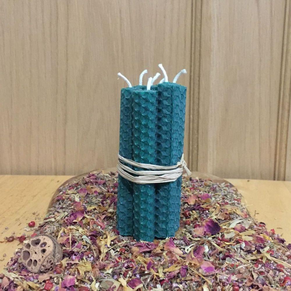 Emerald Green Spell Candles