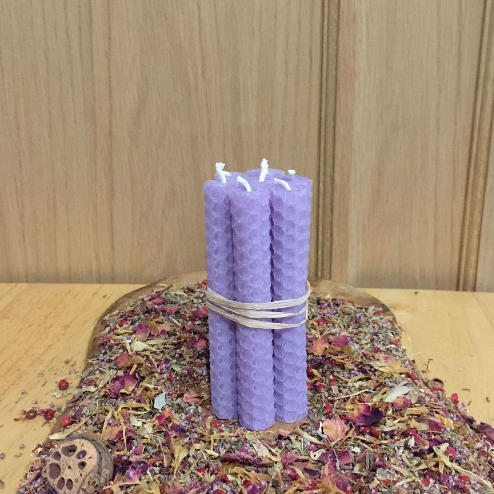 Lilac Spell Candles
