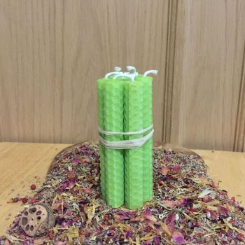 Lime Green Spell Candles