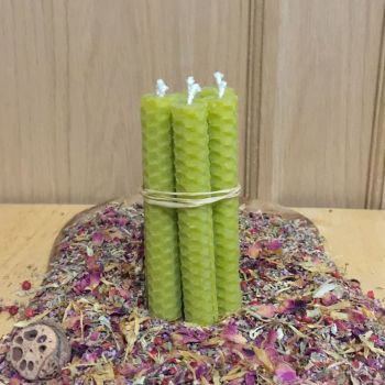 Olive Green Spell Candles