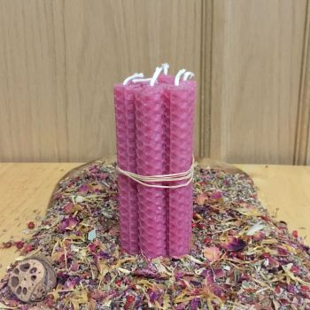 Rubine Spell Candles