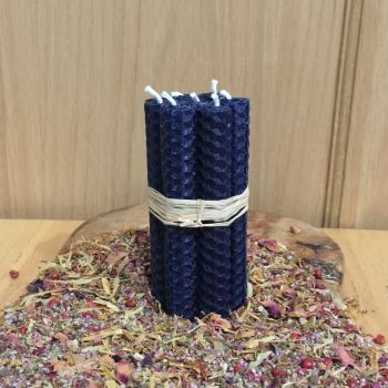 Dark Blue Spell Candles