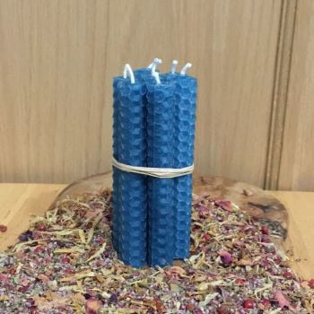 Turquoise Spell Candles