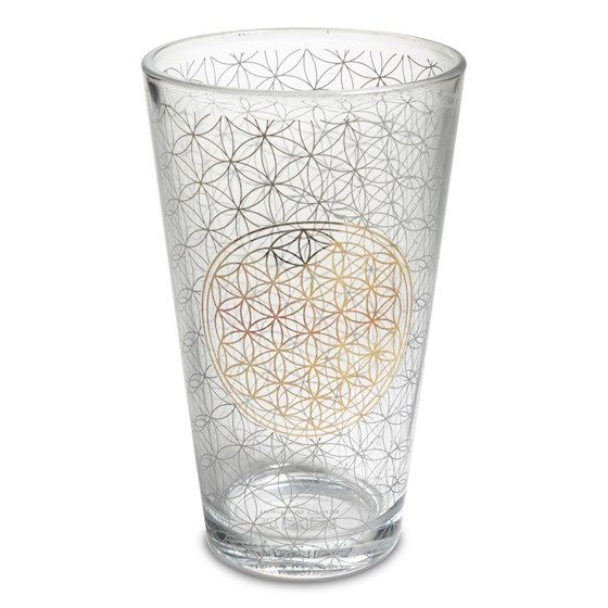 Flower of Life - Drinking Glass