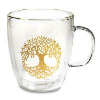 Tree of Life - Glass Tea Mug