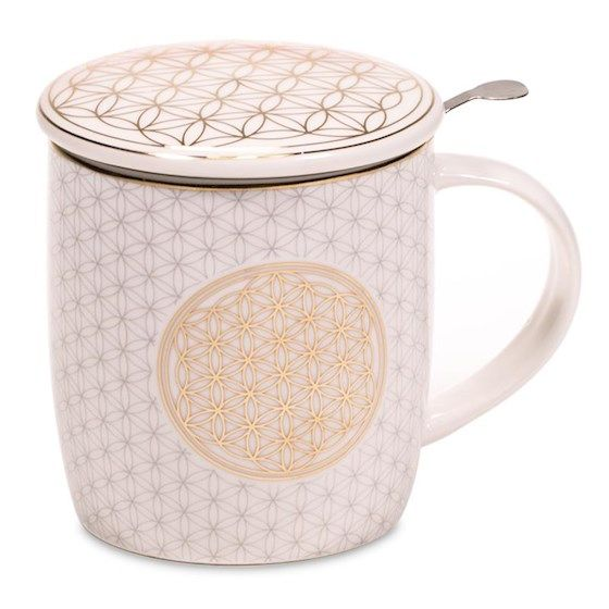Flower of Life - Infuser Mug