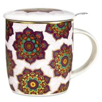 Red & Purple Mandala - Infuser Mug