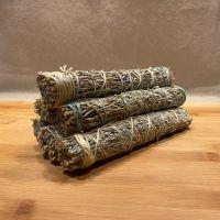 Blue Sage & Wild Bergamot Smudging Stick - Large