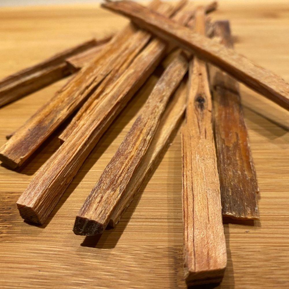 Honduras Long Leaf Pine Wood Smudging Wand