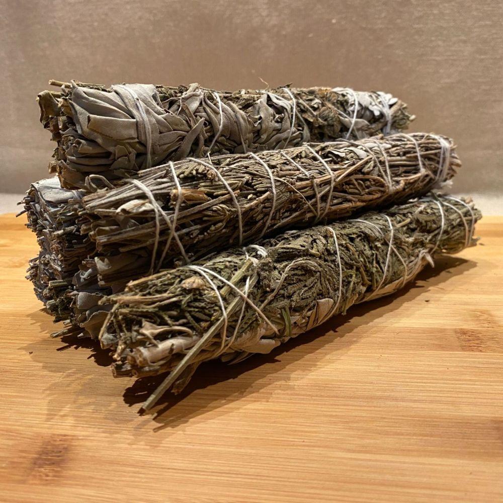White Sage & Lavender Smudging Stick - Large