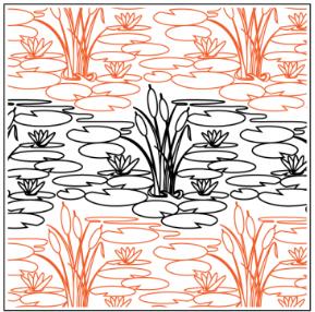 Cattails & Lilypads by Stephanie Schick