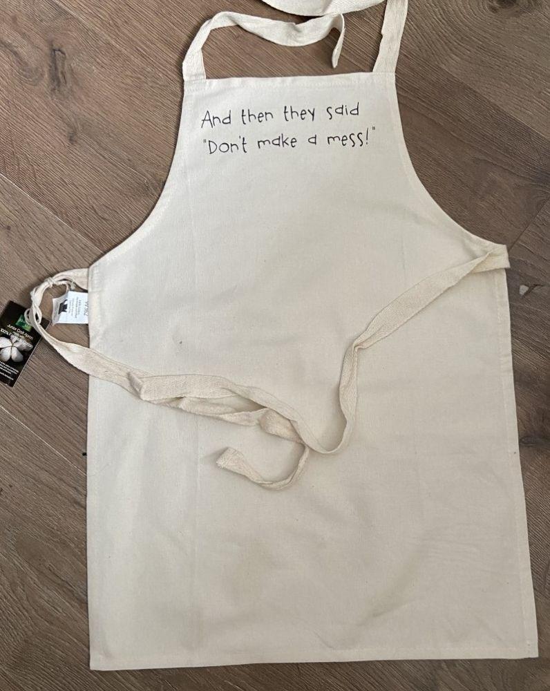 Flash sale!!!! Childrens cotton apron - Shop