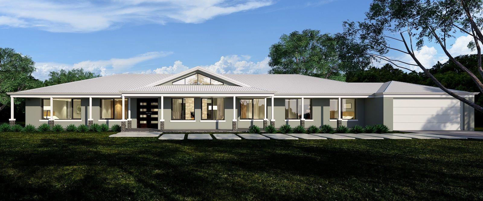 Farmhouse And Rural Home Designs Online Ranch Style Home