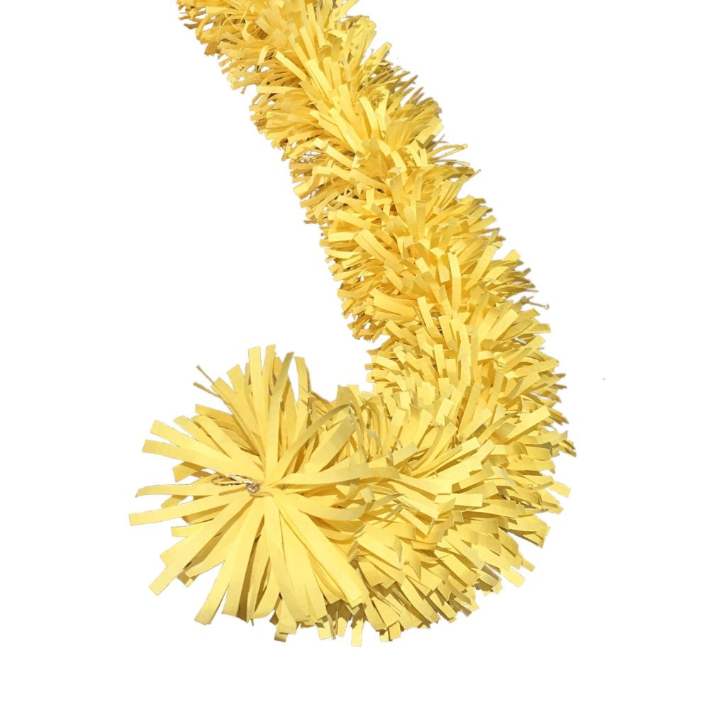 Ecotinsel Sunshine Yellow Garland