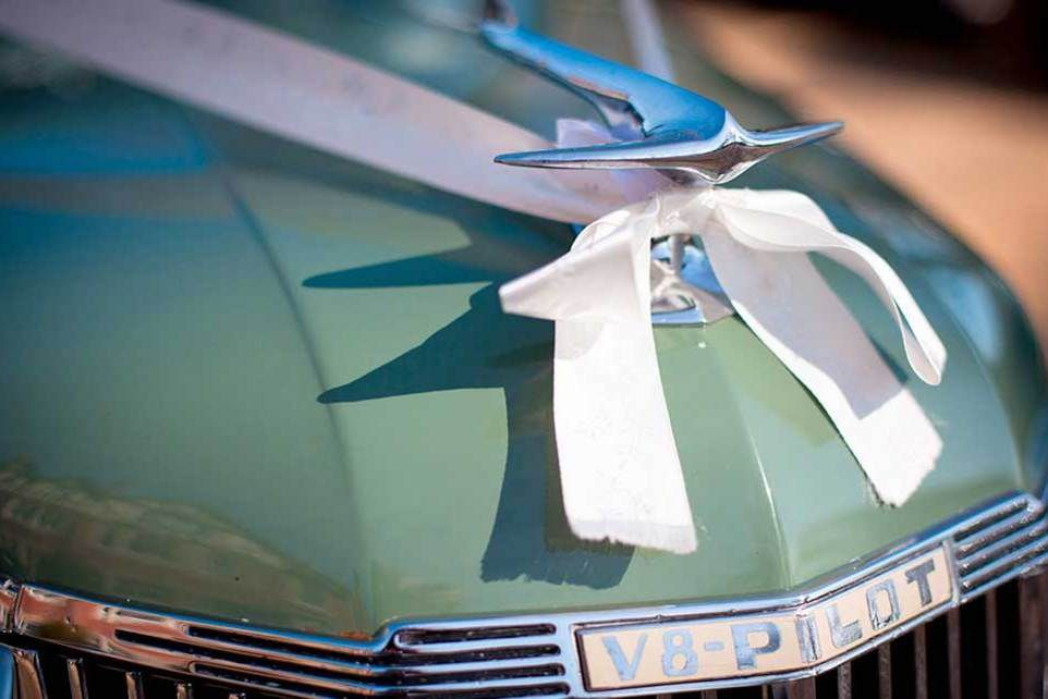 Wedding Car from D & M Classics