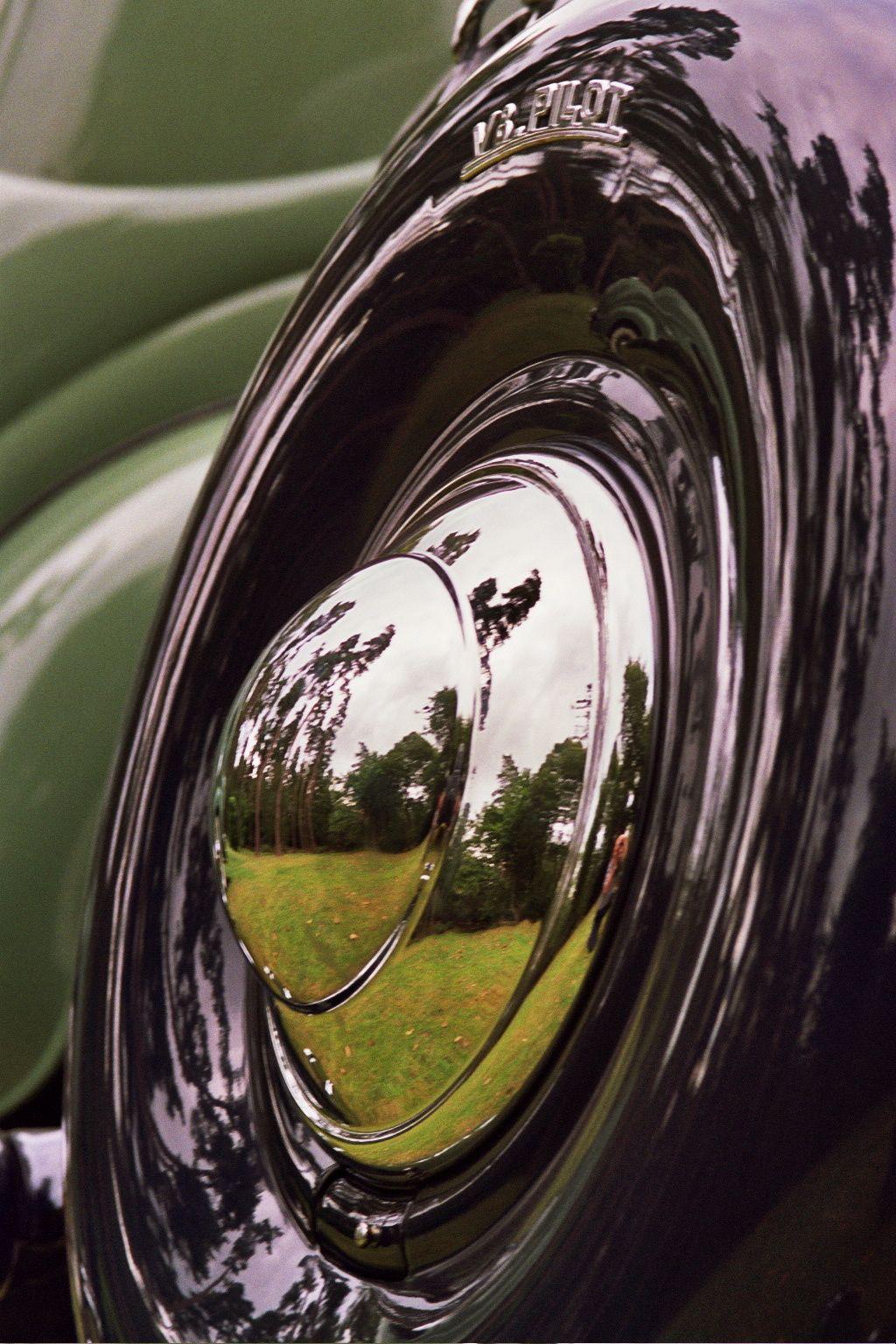 vintage spare wheel