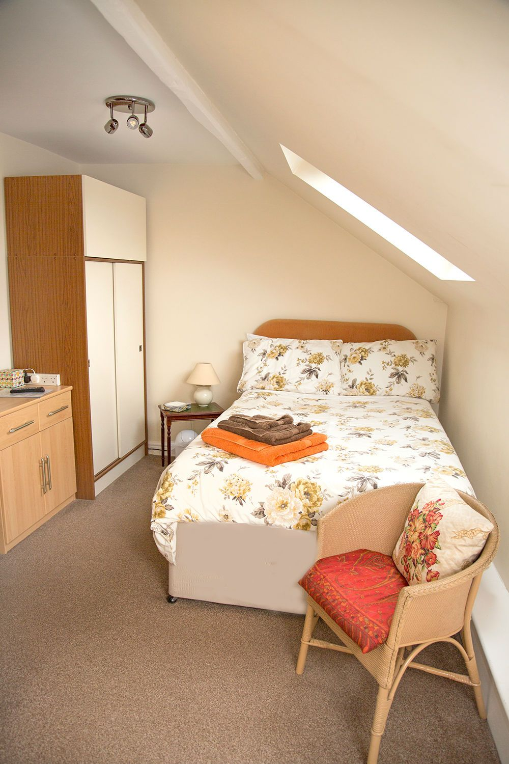 The Single Room at Old Hathern Station B&B