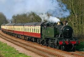 Steam train from Great Central Railway