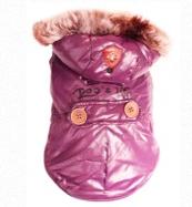 Royale Parka Jacket With Hood (Purple07)