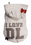 I Love DL Hoodie (Grey11)