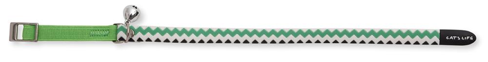 Non Toxic PVC Chevron (Green04) Medium