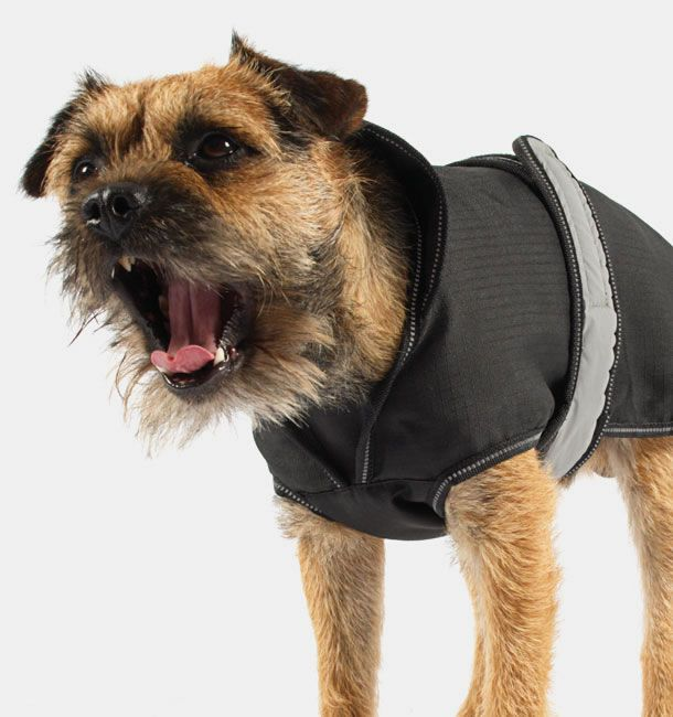 Grey/Black 2 in 1 Ultimate Dog Coat 25cm (10