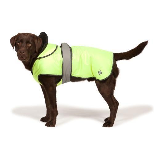 """Hi Viz 2 in 1 Dog Coat 25cm (10"""")"""