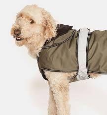 """Khaki 2 in 1 Ultimate Dog Coat (10"""")"""