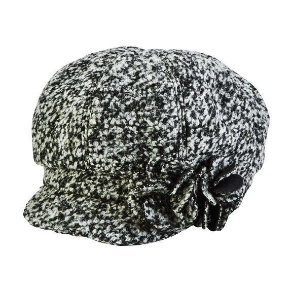 San Diego Hat Company: WOMEN'S BOUCLE NEWSBOY