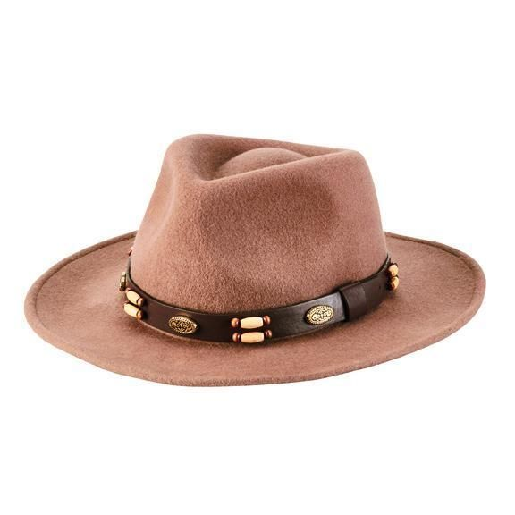 San Diego Hat Company: MEN'S CRUSHABLE, WIRE BRIM FEDORA
