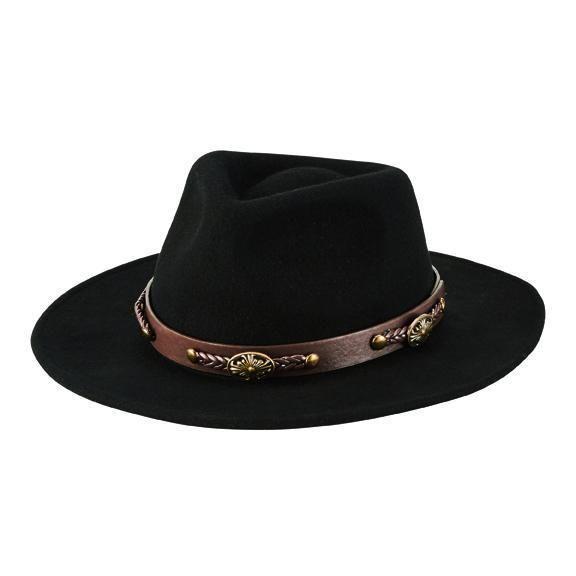 San Diego Hat Company: MEN'S CRUSHABLE WOOL FELT FEDORA