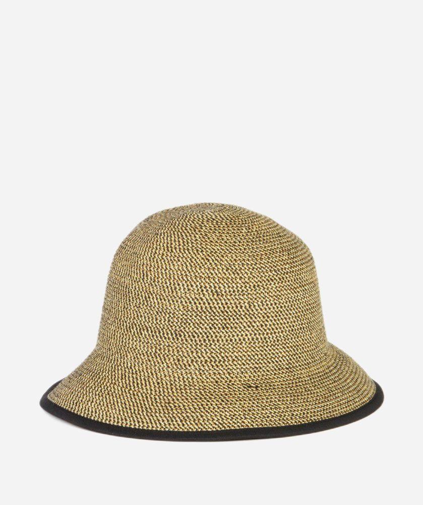 PBS2- Women's Paperbraid Bucket Hat  -  MULTI BLACK   -  WOMENS O/S