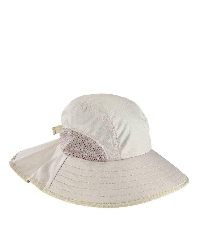 CTH8057- UNISEX PERFORMANCE MILITARY CAP  -  KHAKI   -  WOMENS O/S