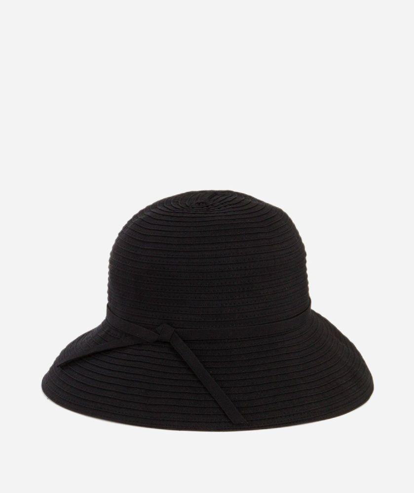 RBS4720- Women's Ribbon Crusher Small Brim Hat  -  WOMENS O/S