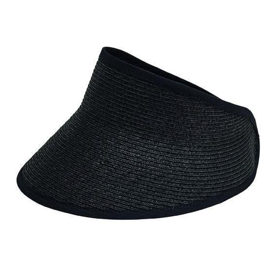 UBV043 - Women's sport visor with a stretch band closure  -  WOMENS O/S